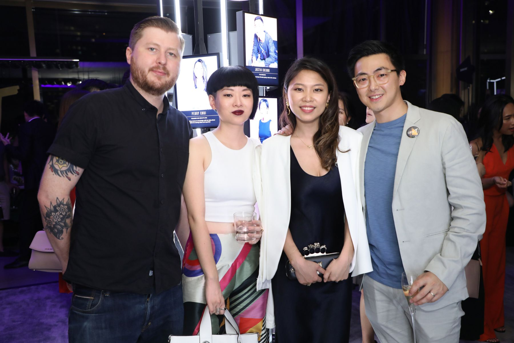 Peter Yuill, Thierry Chow, Elaine Lu, Vince Lim