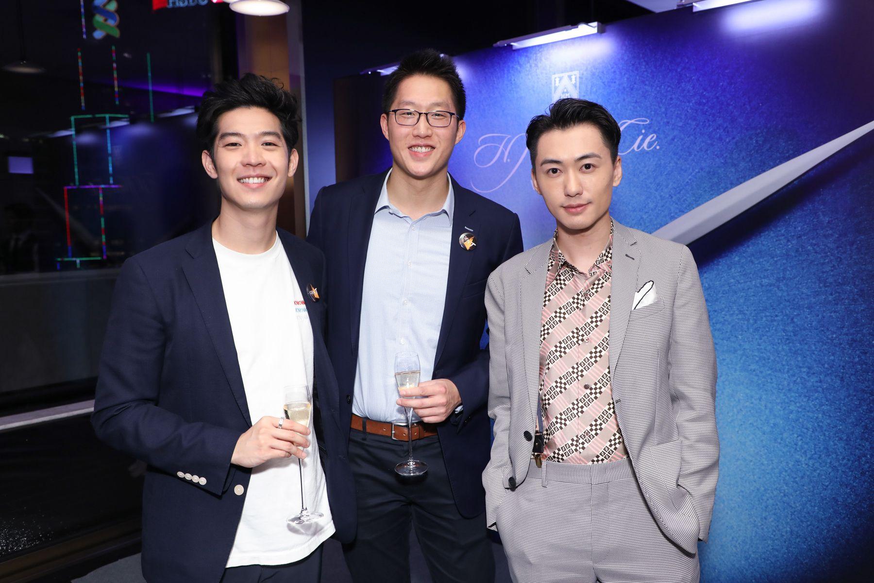 Ross Yip, David Chang, Charles Lam