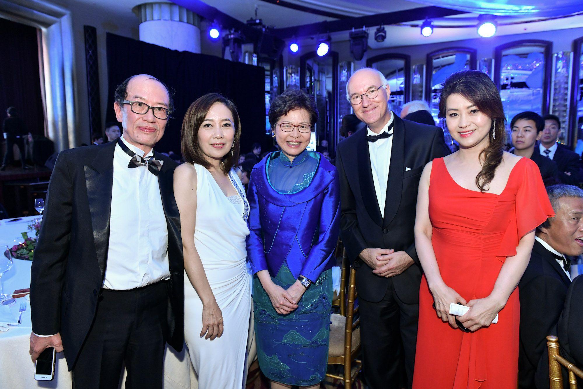 Bosco Ho, Olivia Lo, Carrie Lam, Eric Berti, Cecilia Cheung