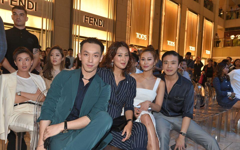Harris Chan, Antonia Li, Eleanor Lam, Jonathan Cheung