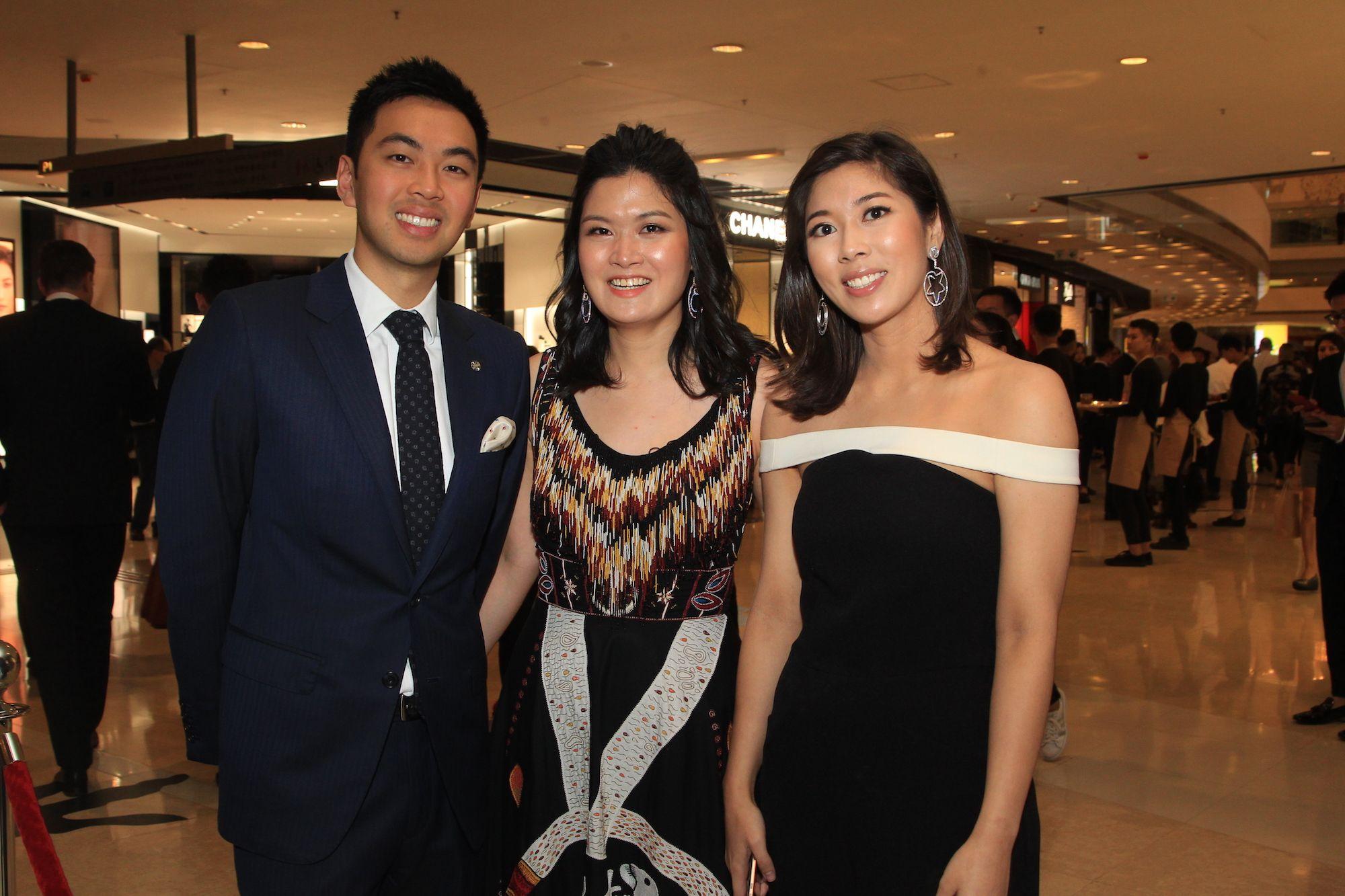 Adrian Cheung, Jennifer Cheung, Amanda Cheung