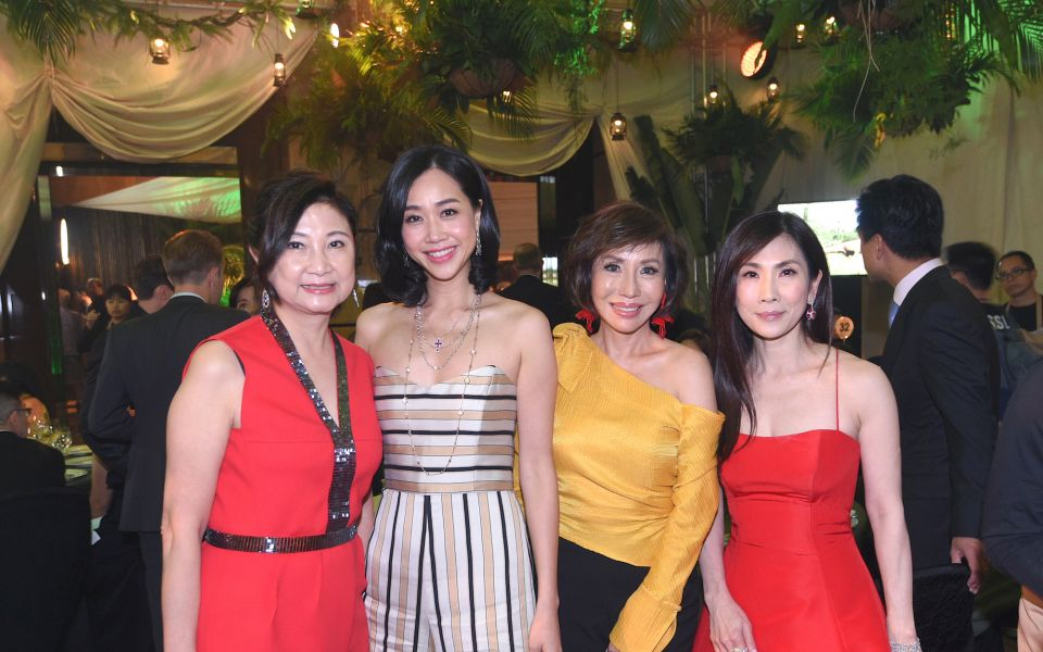 Catherine Kwai, Angie Ting, Olivia Lee-Davies, Ming Ho-Tang