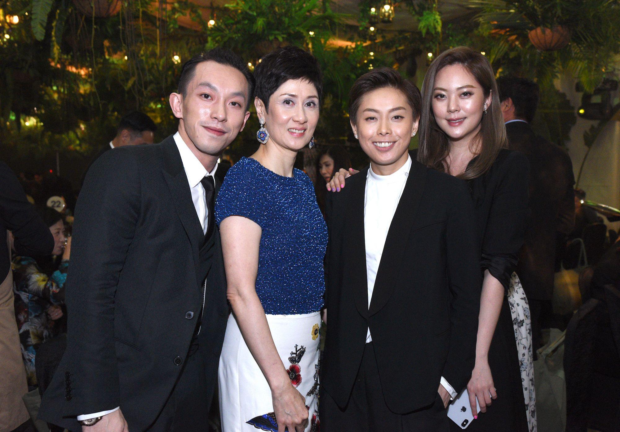 Harris Chan, Michelle Ong-Cheung, Tiffany Chan, René Chu