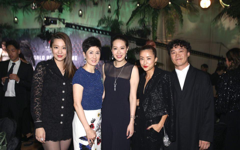 Irene Wang, Michelle Ong-Cheung, Cissy Wang, Hilary Tsui, Eason Chan