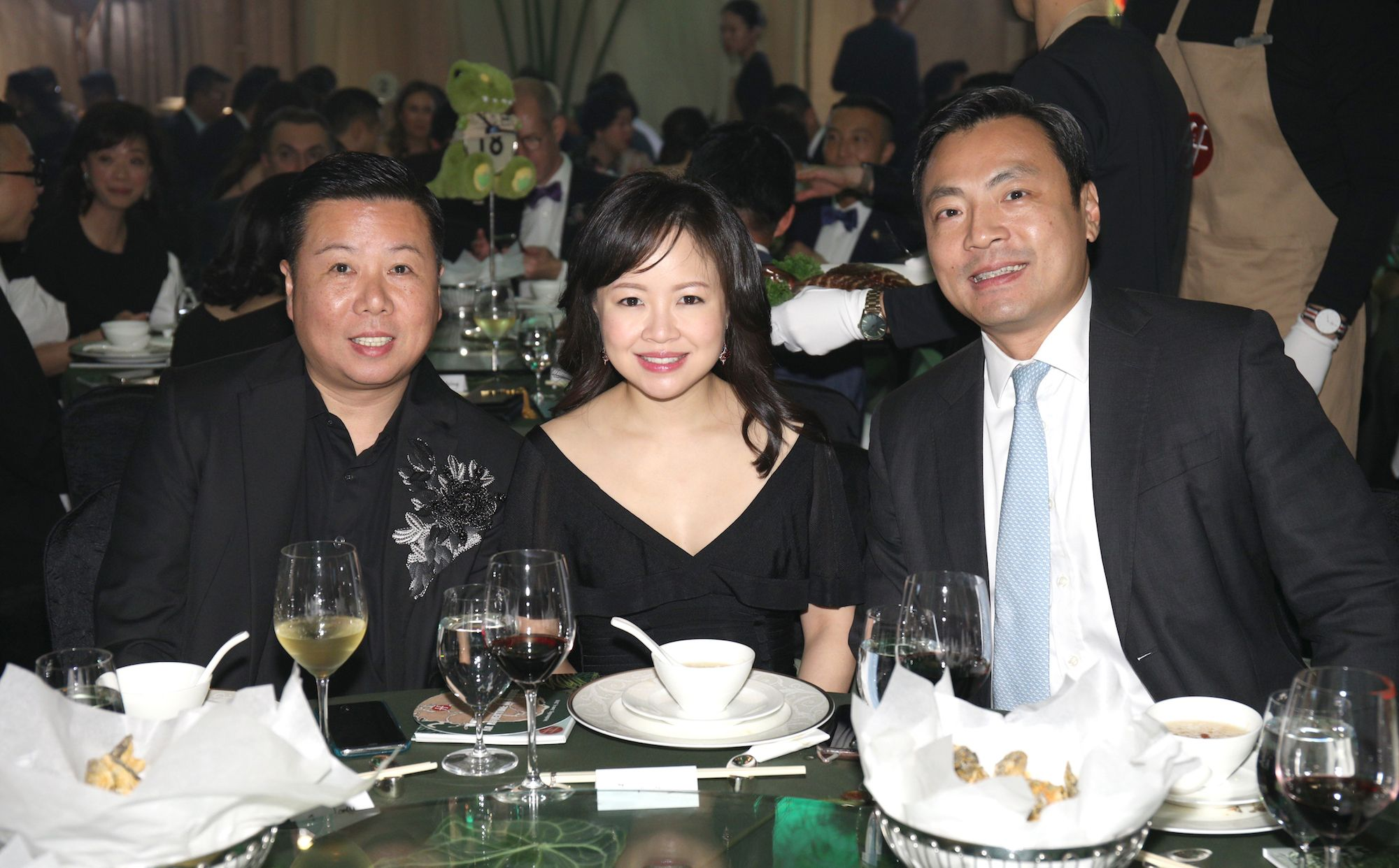 James Louey, Jennifer Cheng, Kevin Lam