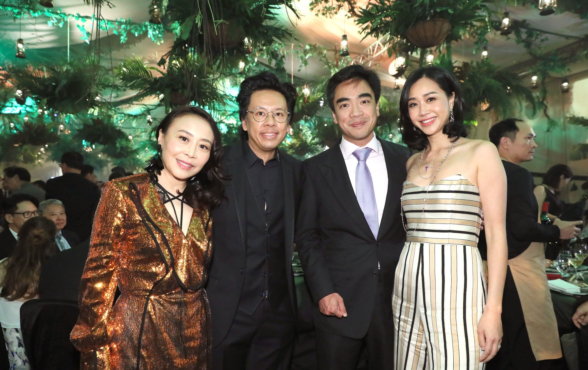 Roletta Kung, David Kung, Ivan Ting, Angie Ting