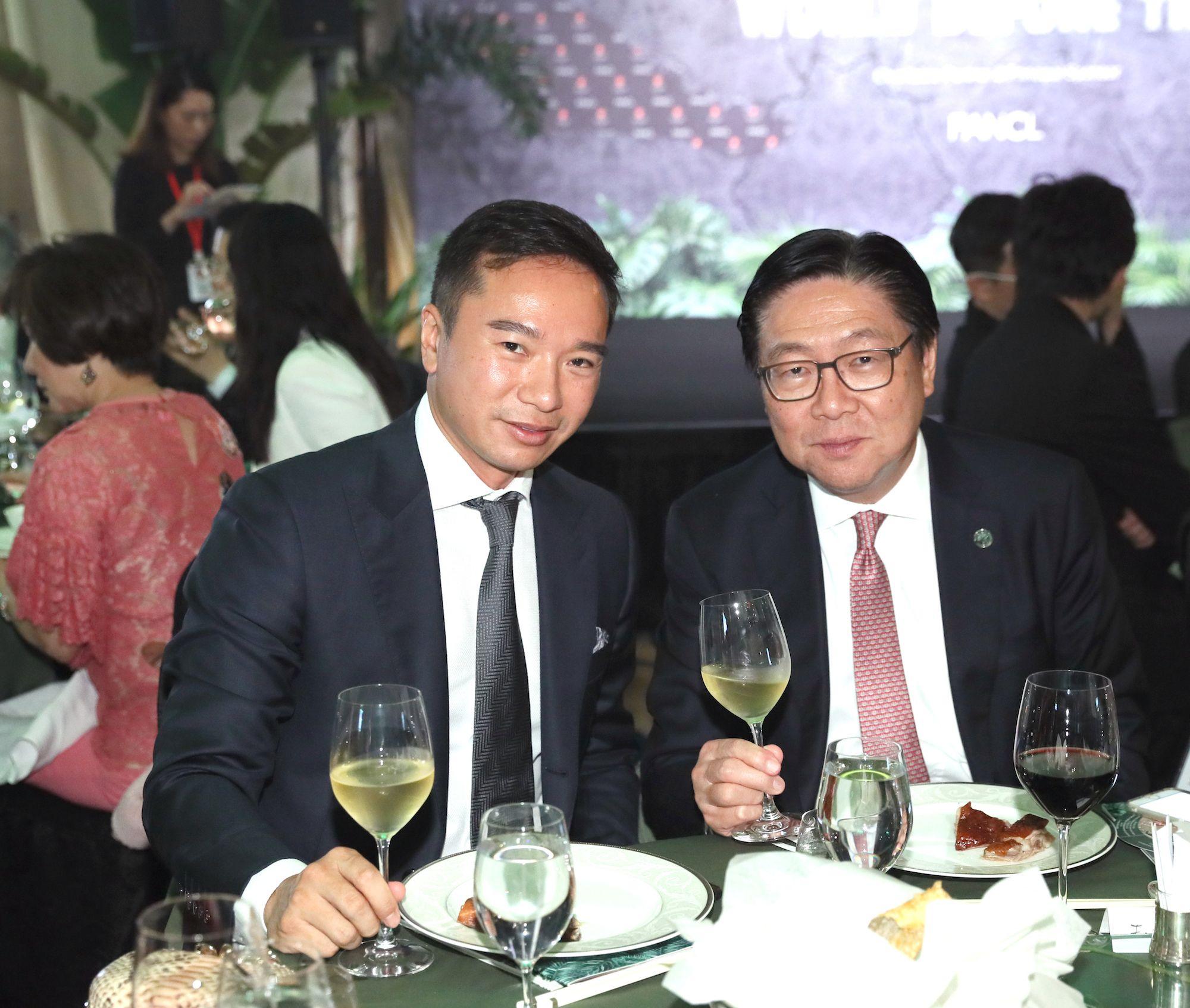 Tenniel Chu, Frederick Ma