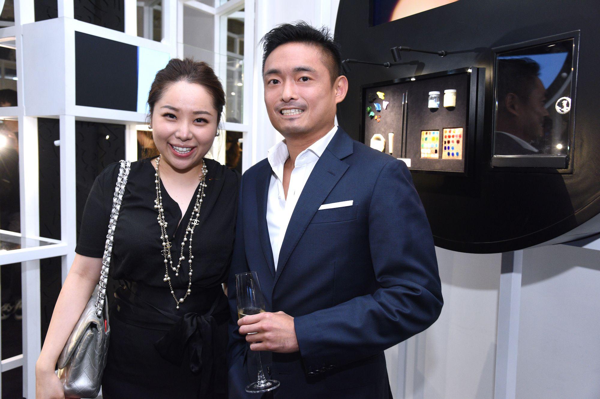 Amanda Lau, Arthur Lam