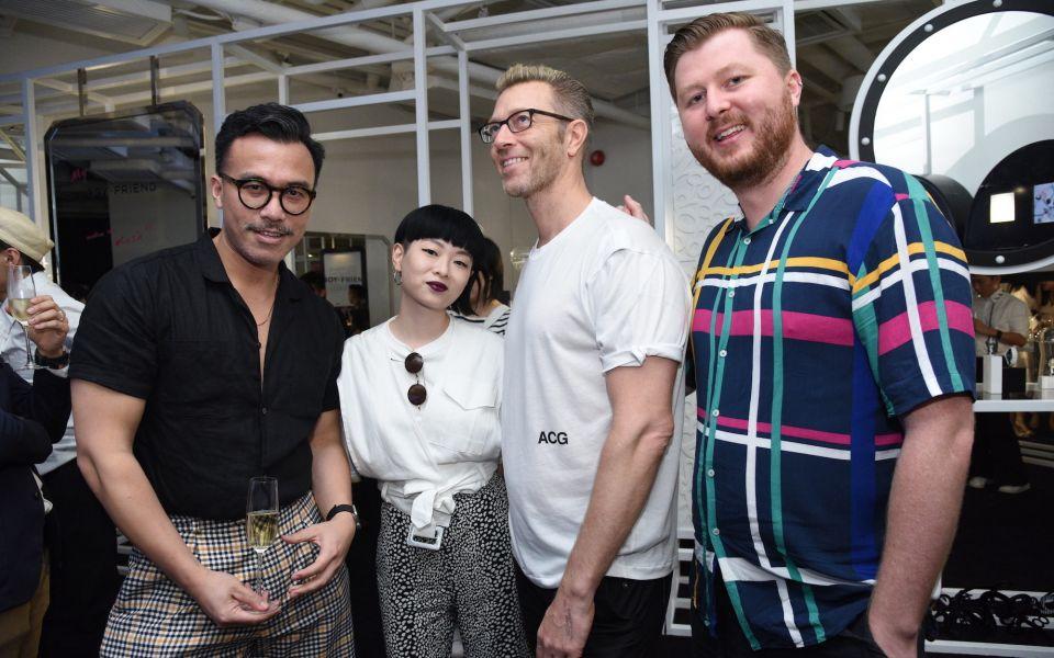 JJ Acuna, Thierry Chow, Simon Birch, Peter Yuill