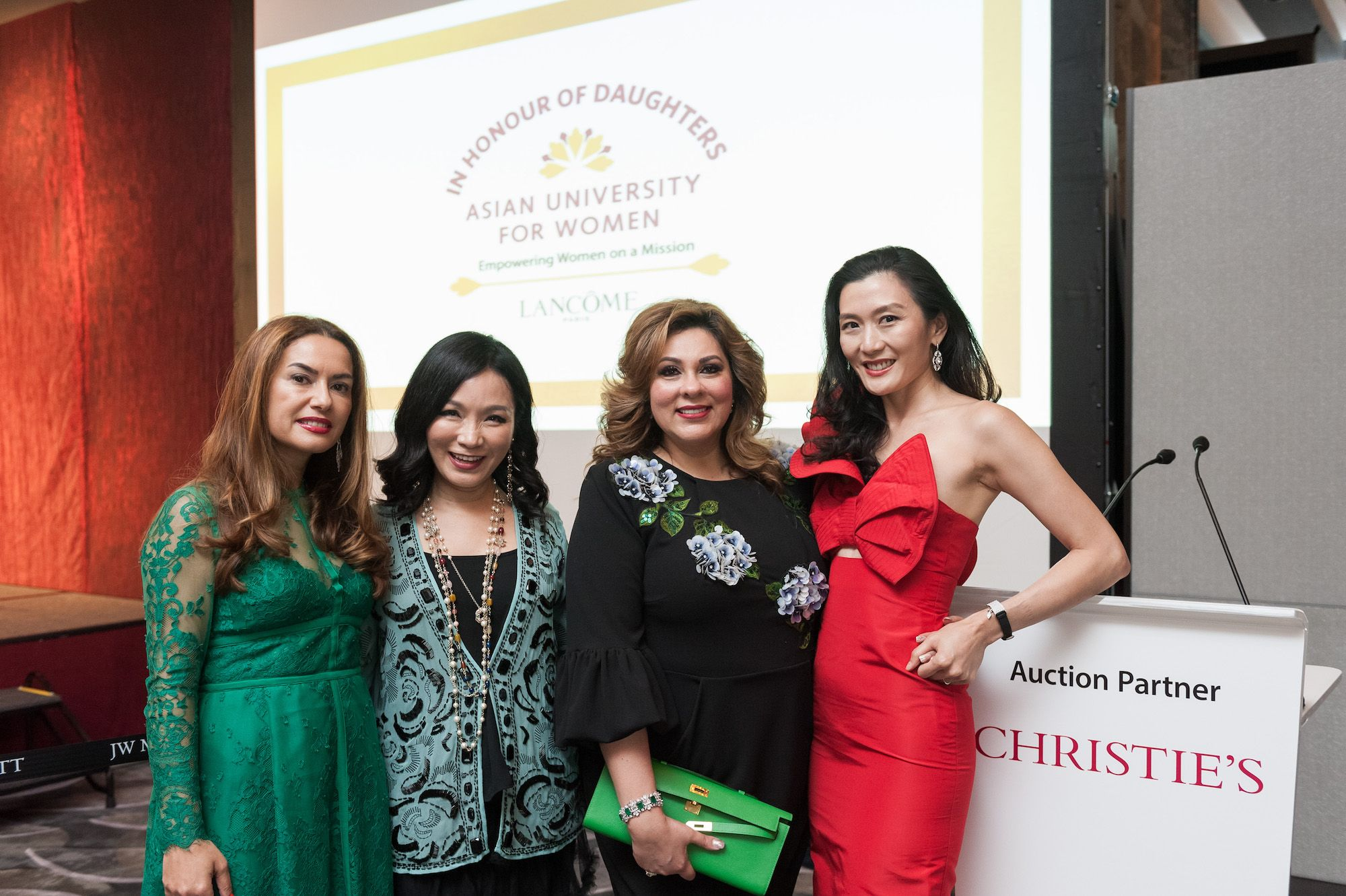 Aylin Suntay, Rachel Park-Monballiu, Rina Wadhwani, Kate Chan