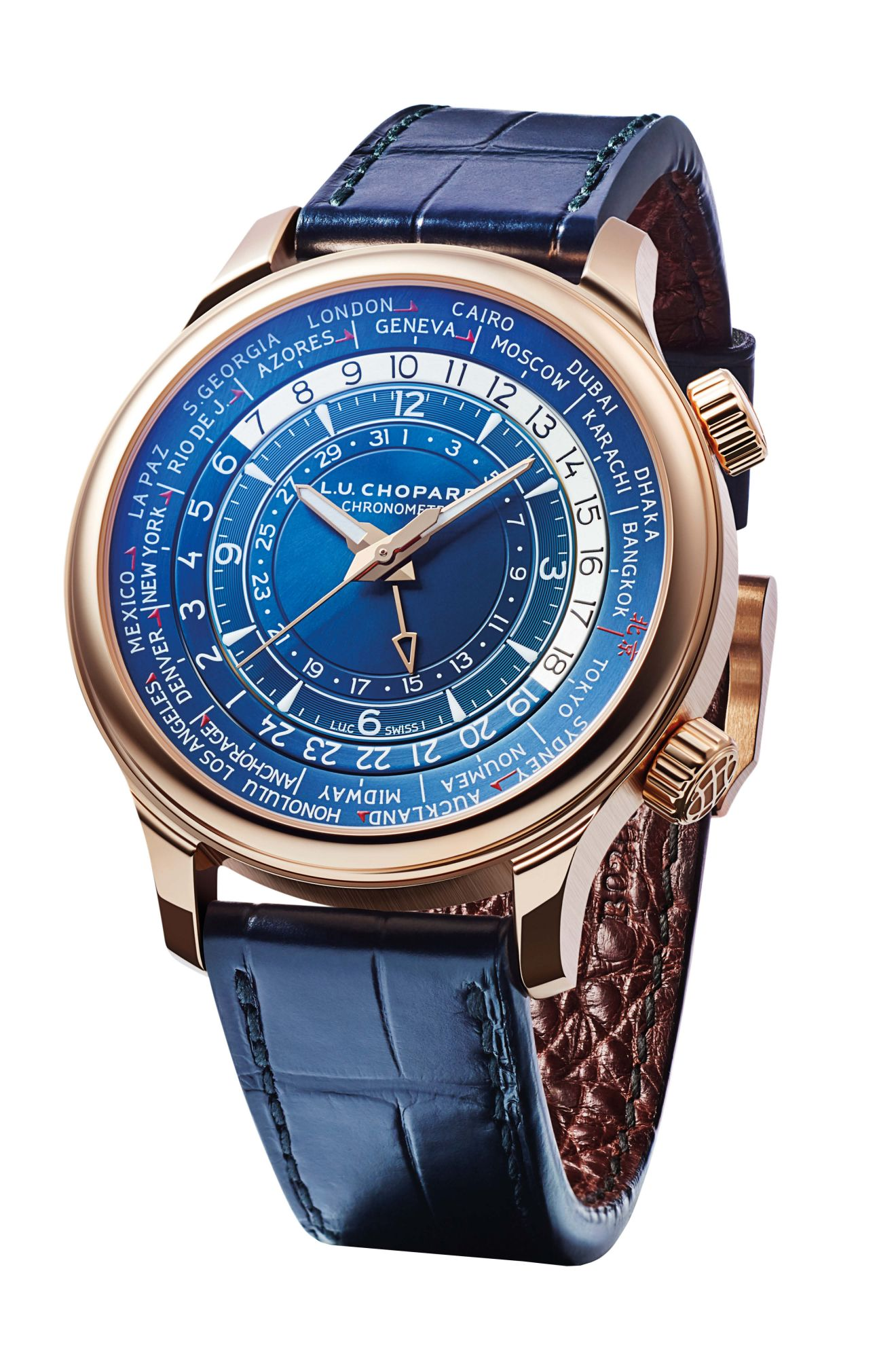9 Of The Best World-Time Watches | Singapore Tatler
