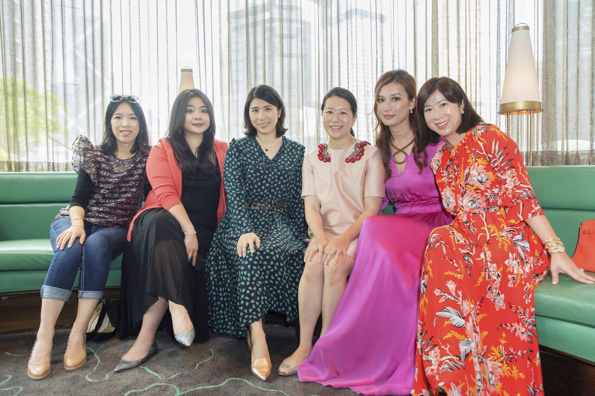 Alina Huo-Knothe, Vena Cheng, Samanta Pong-Lau, Amy Wong, Colleen Fung, Leanne Lu-Chu