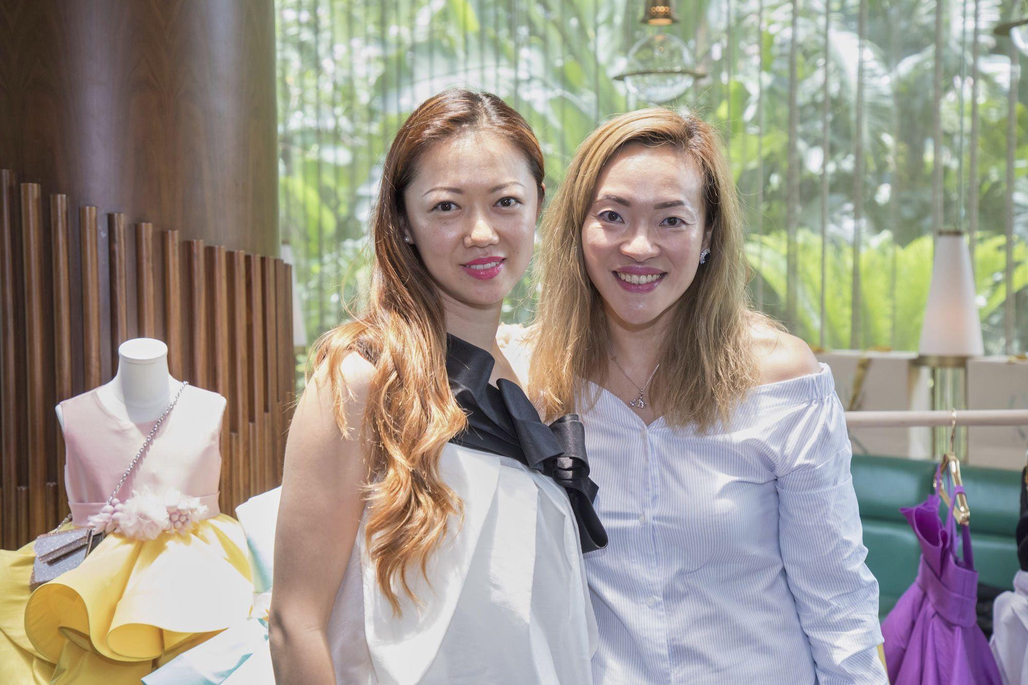 Vivian Luk, Elaine Yin