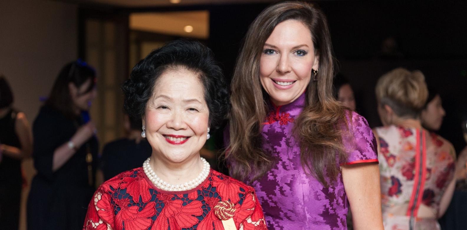 Anson Chan, Lynne Ann Davis