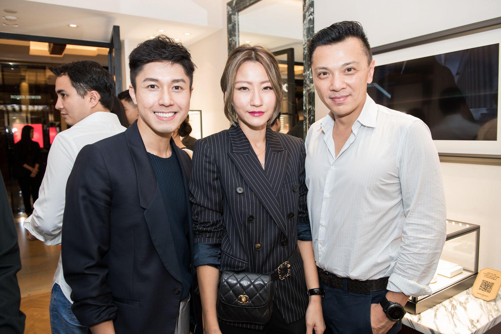 Edwin Pun, Esther Sham, Sunny Tan