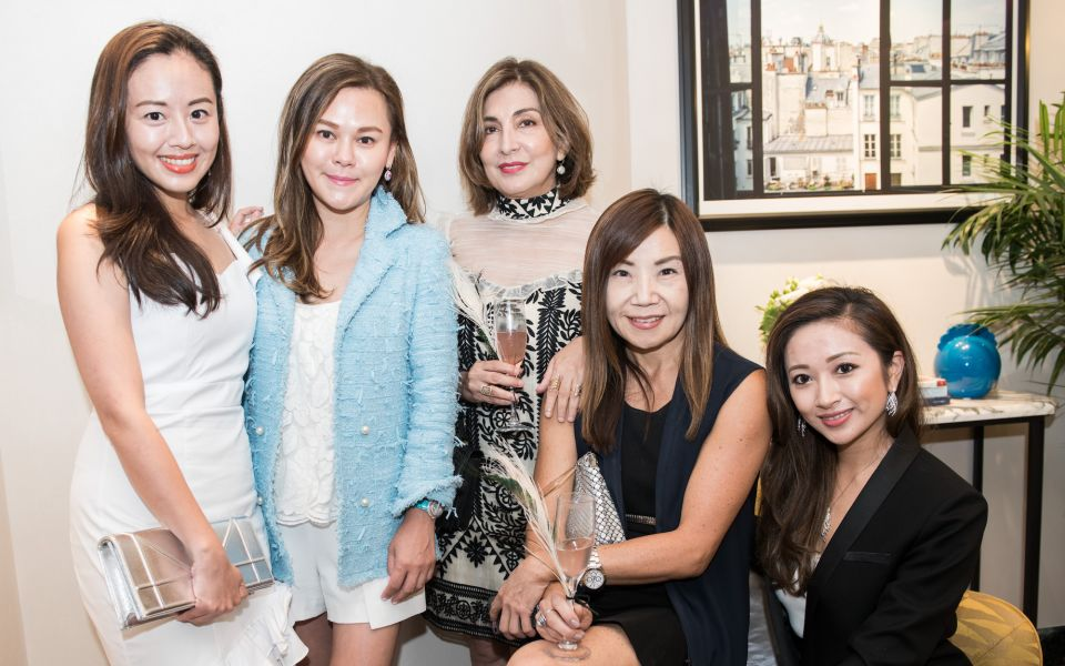 Fiona Zhuang, Clara Li, Shirley Hiranand, Esther Ma, Sarah Zhuang
