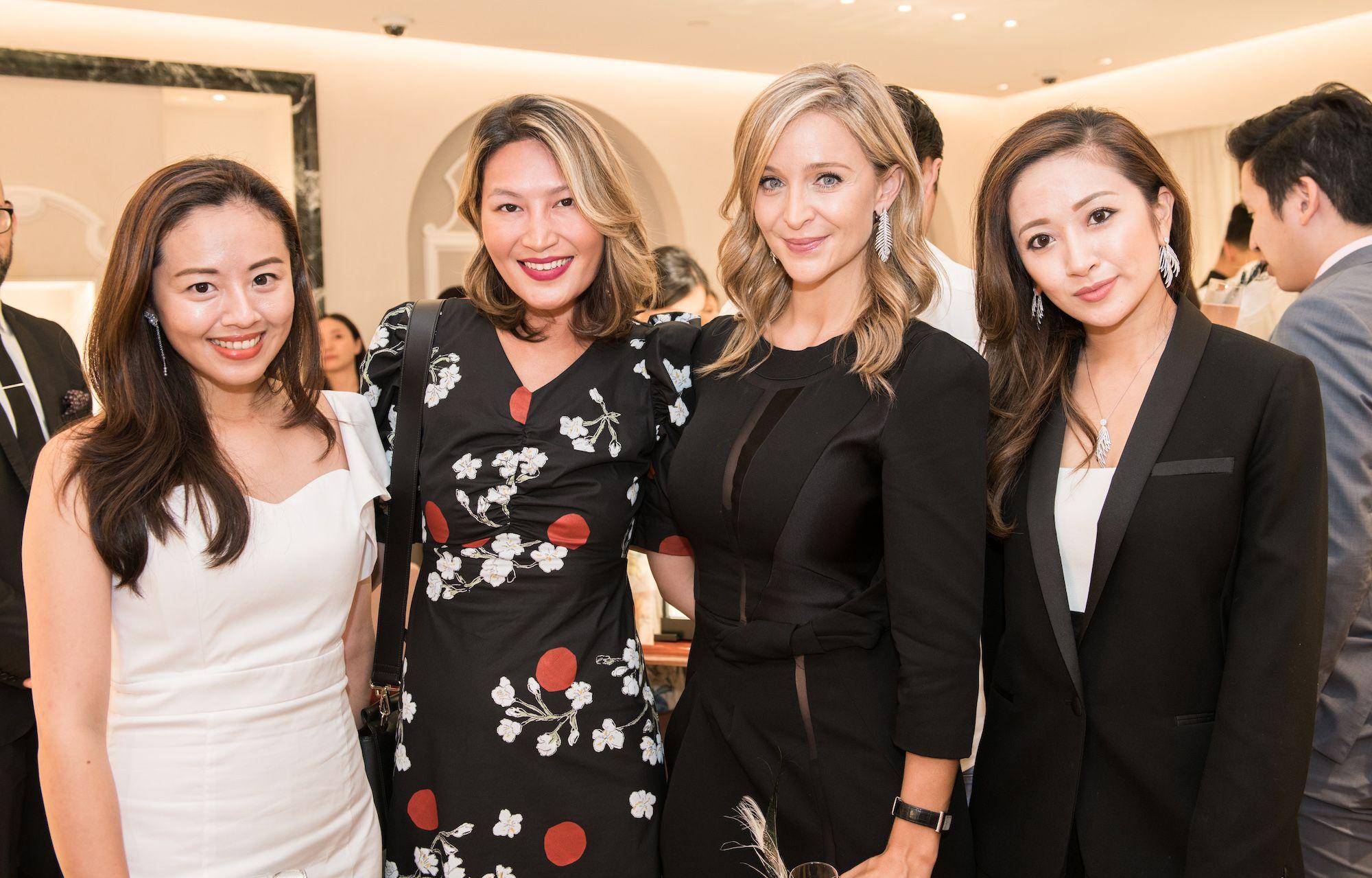 Fiona Zhuang, Helen Ma, Elodie Bougenault, Sarah Zhuang