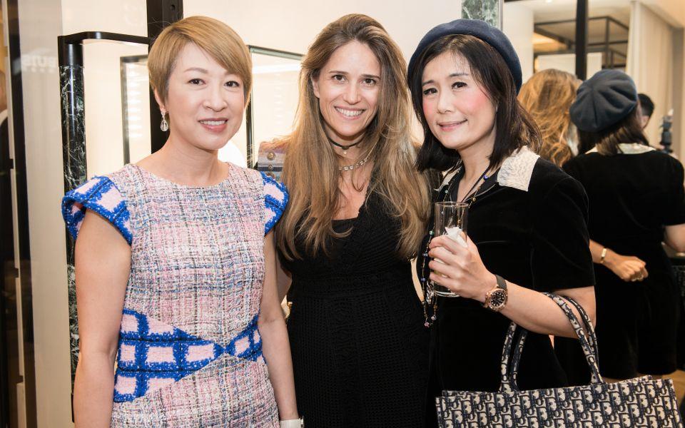 Michelle Ma, Leslie Serrero, Denise Lo