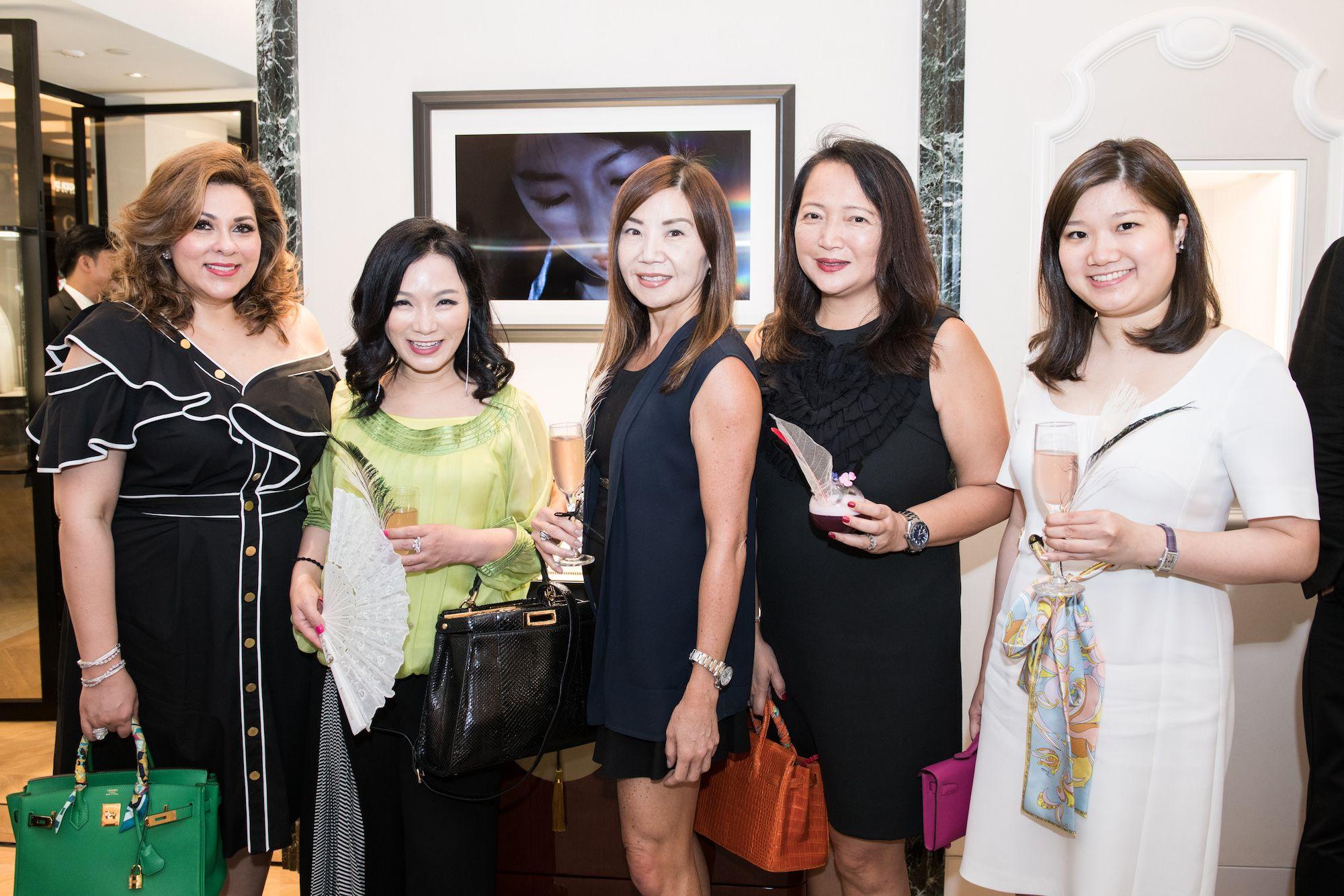 Rina Wadhwani, Rachel Park-Monballiu, Esther Ma, Vicky Wong, Carmen Choi