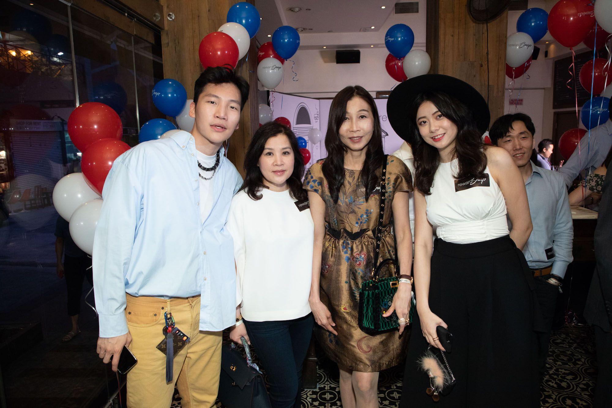 Koh Li Tim, Esther Tan, Joyce Lim, Mimi Chen