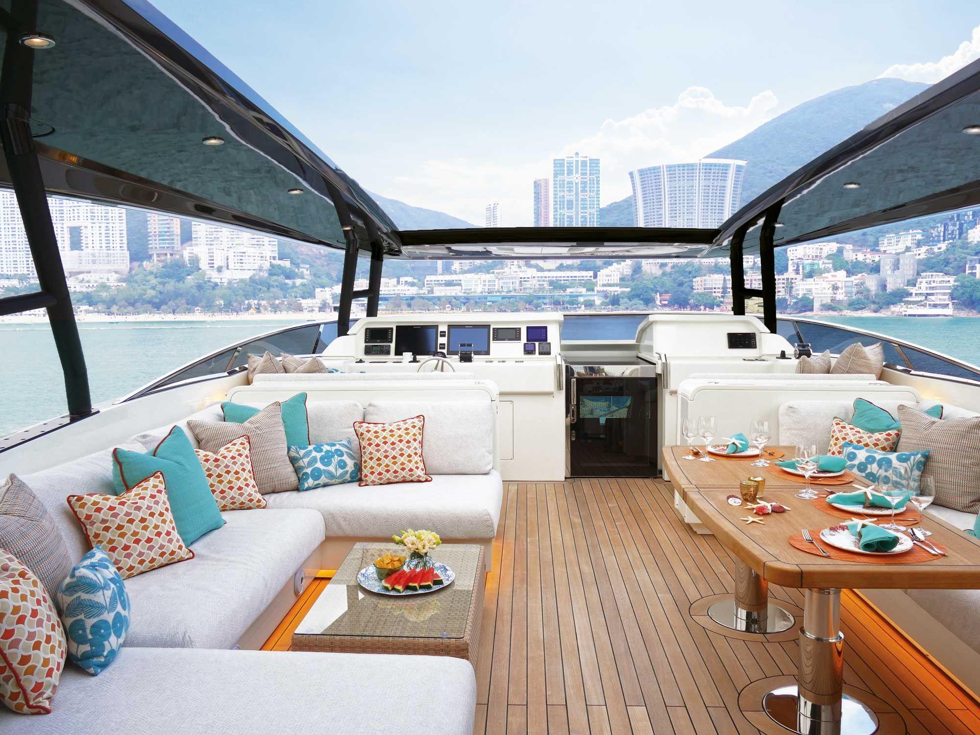 Sail Away Inside The 32m Yacht Designed By Kelly Lo Tatler Hong Kong