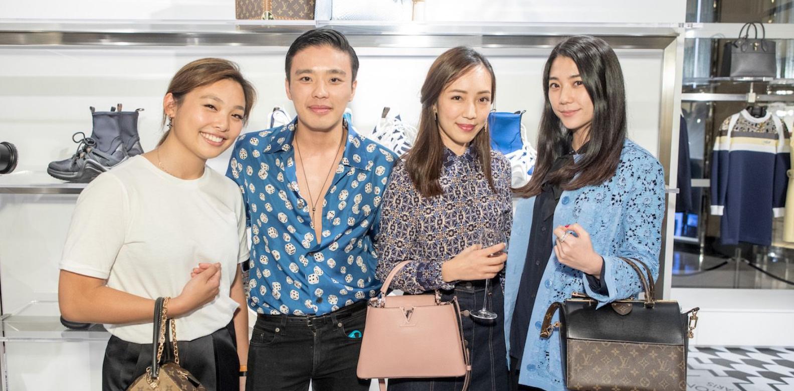 Jenny Lam, Jonathan Cheung, Christine Fok, Vincy Yeung