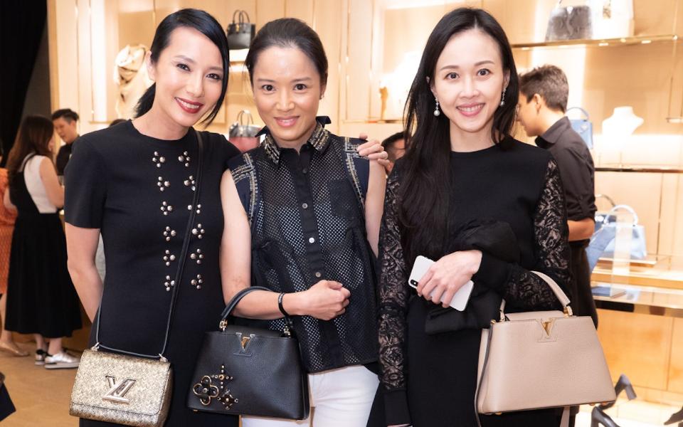 Jaime Ku, Reggie Li-Kwok, Jacqueline Chow