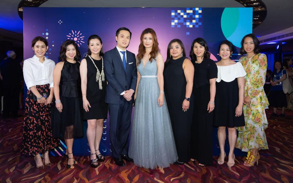 Christina Tse, Leanne Lu-Chu, Tammy Wu, Kevin Lau, Colleen Fung, Vena Cheng, Samanta Pong-Lau, Amy Wong, Sabrina Pang-Fung