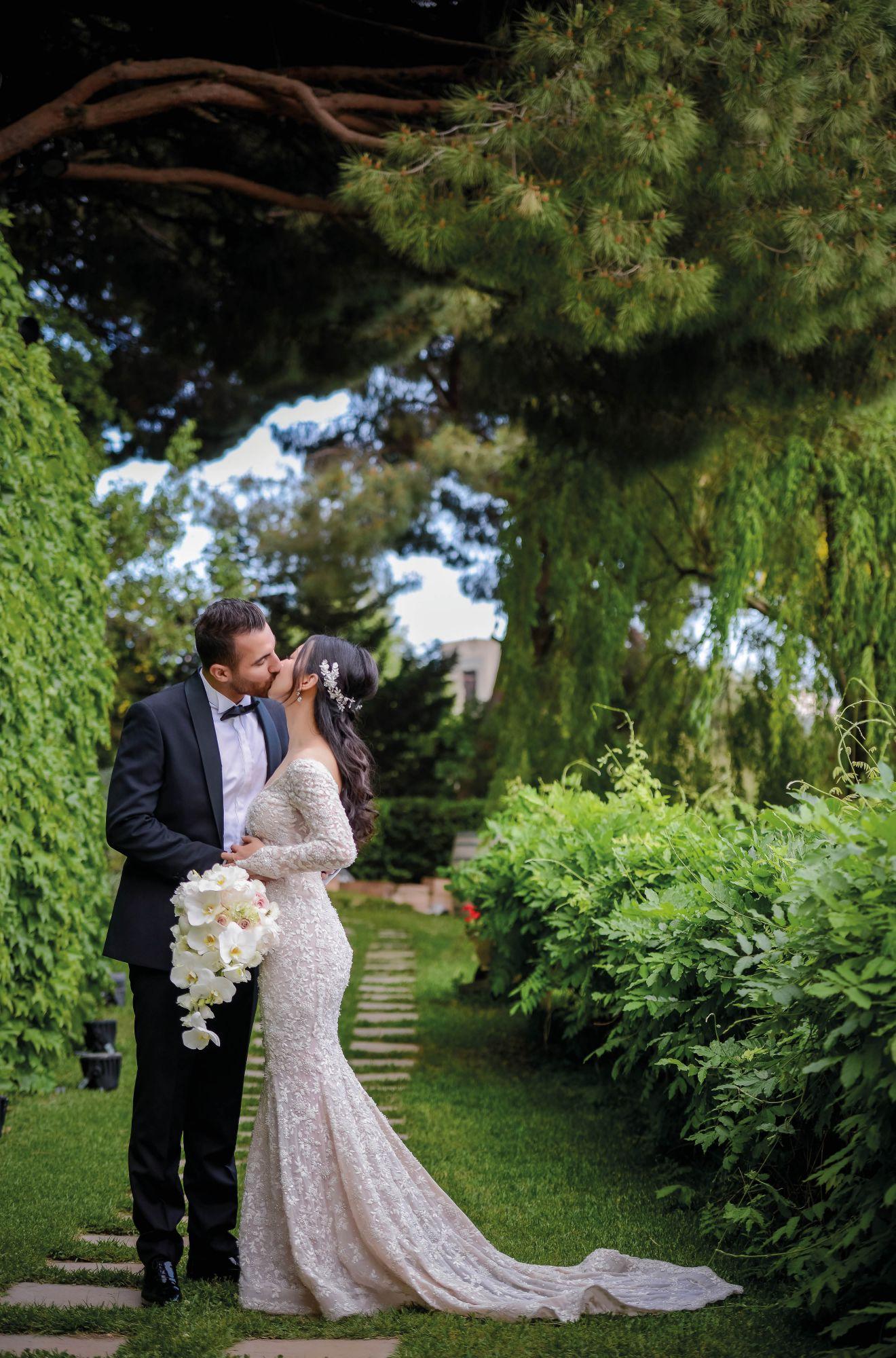 Real Weddings: Alexandra Chen And Mohammad Zakaria's Lebanese Wedding