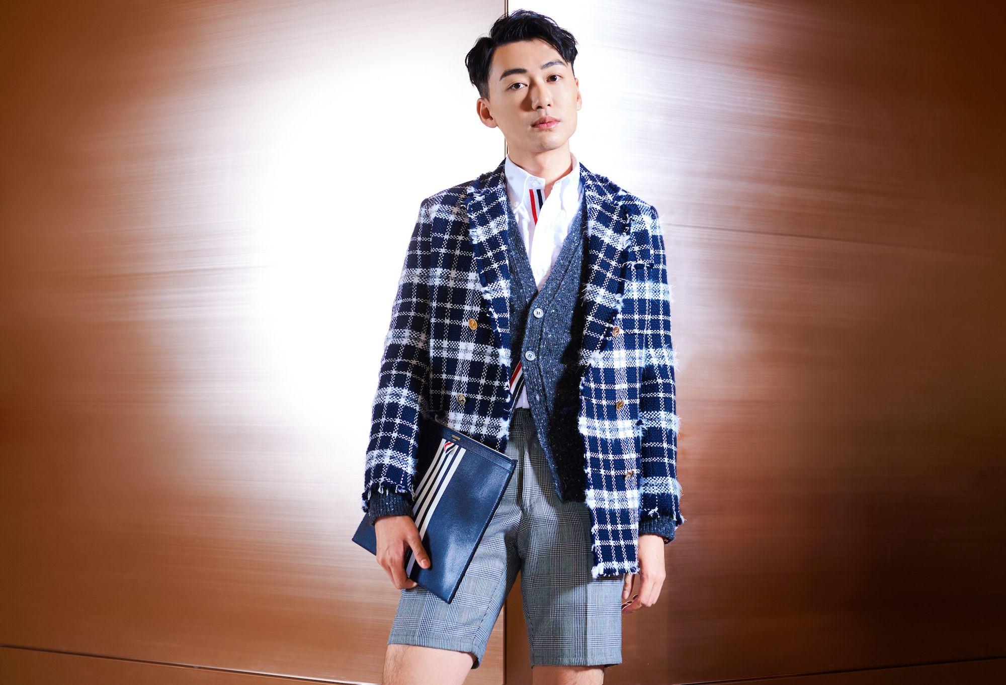 Charles Lam at the Morpheus Boutique (Photo: Moses Ng/Hong Kong Tatler)