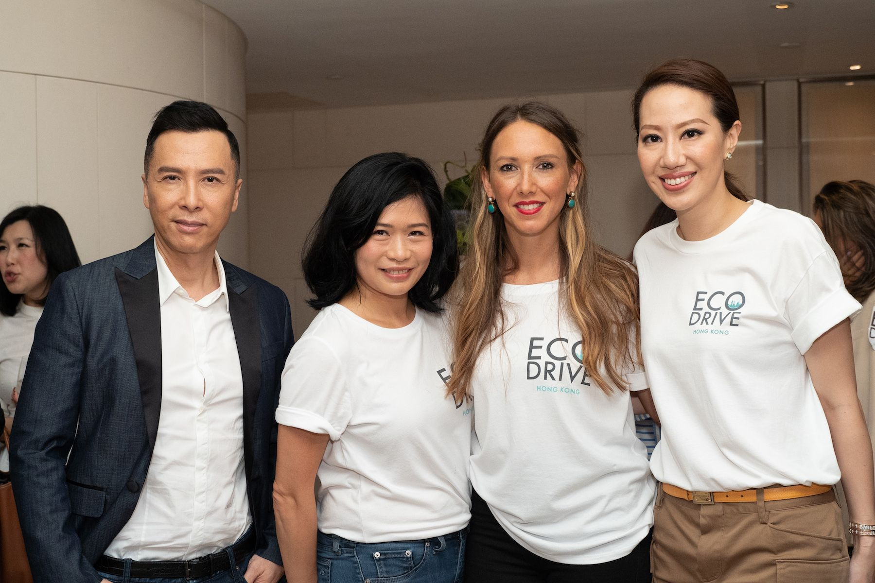 Donnie Yen, Angela Cheng-Matsuzawa, Claire Yates, Cissy Wang