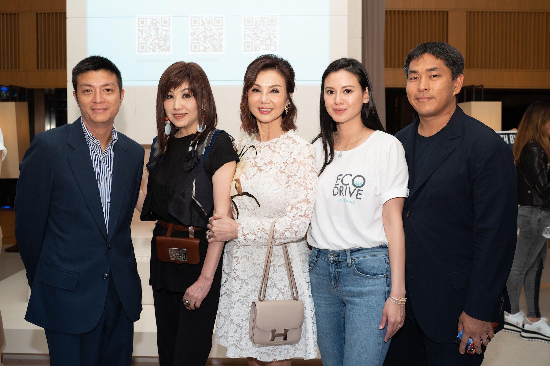 Lester Lam, Jo Jo Fok, Lynn Hsieh, Emily Lam-Ho, Kent Ho