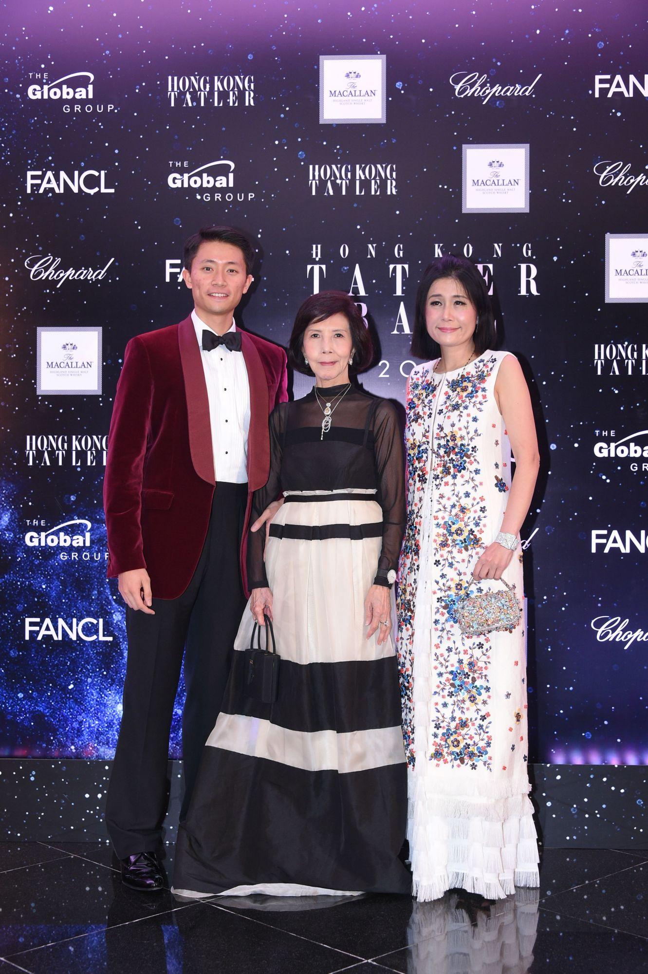 Alastair Wong, Margery Au, Denise Lo