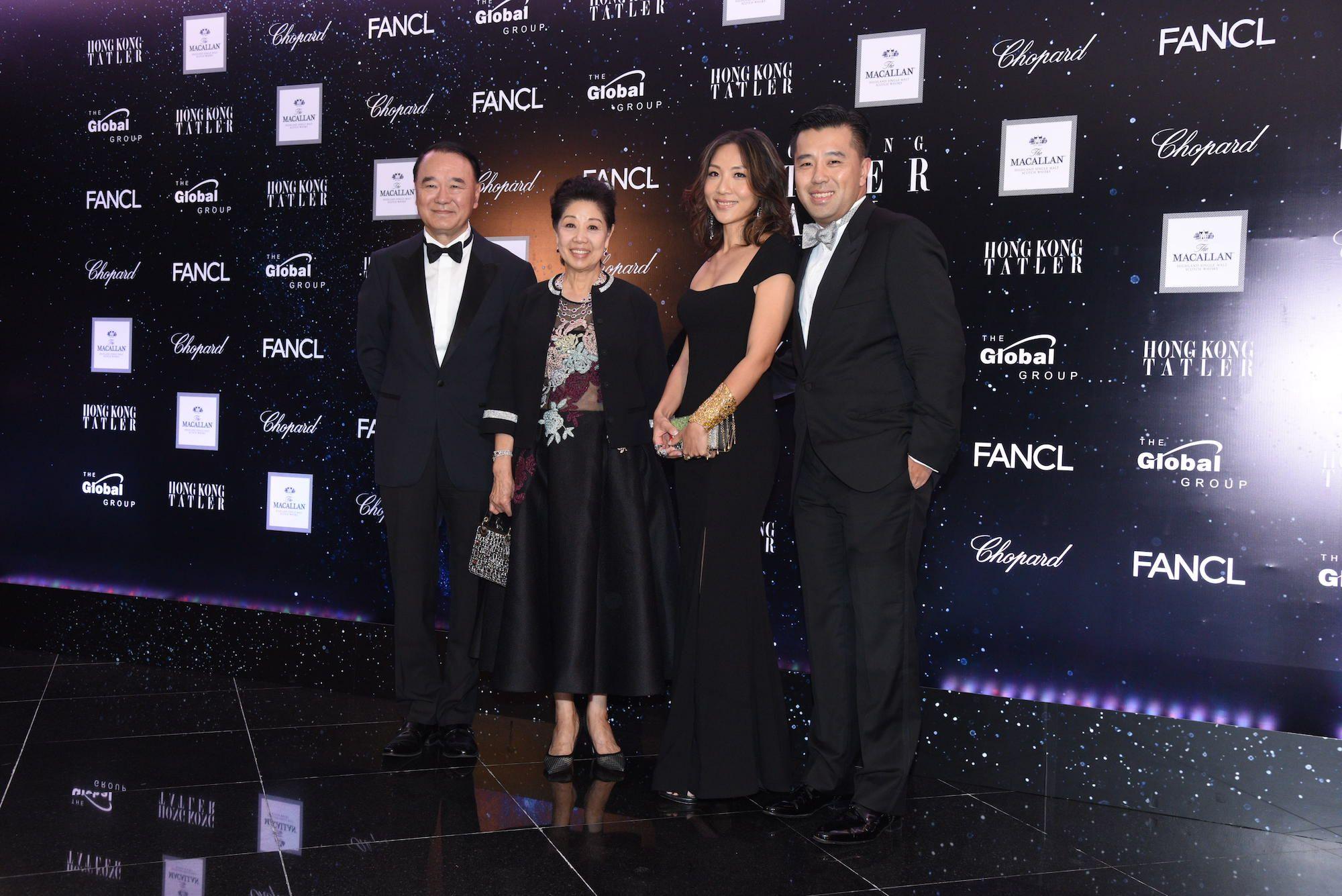 Dennis Sun, Betty Sun, Jacqueline Sun, Stanley Sun
