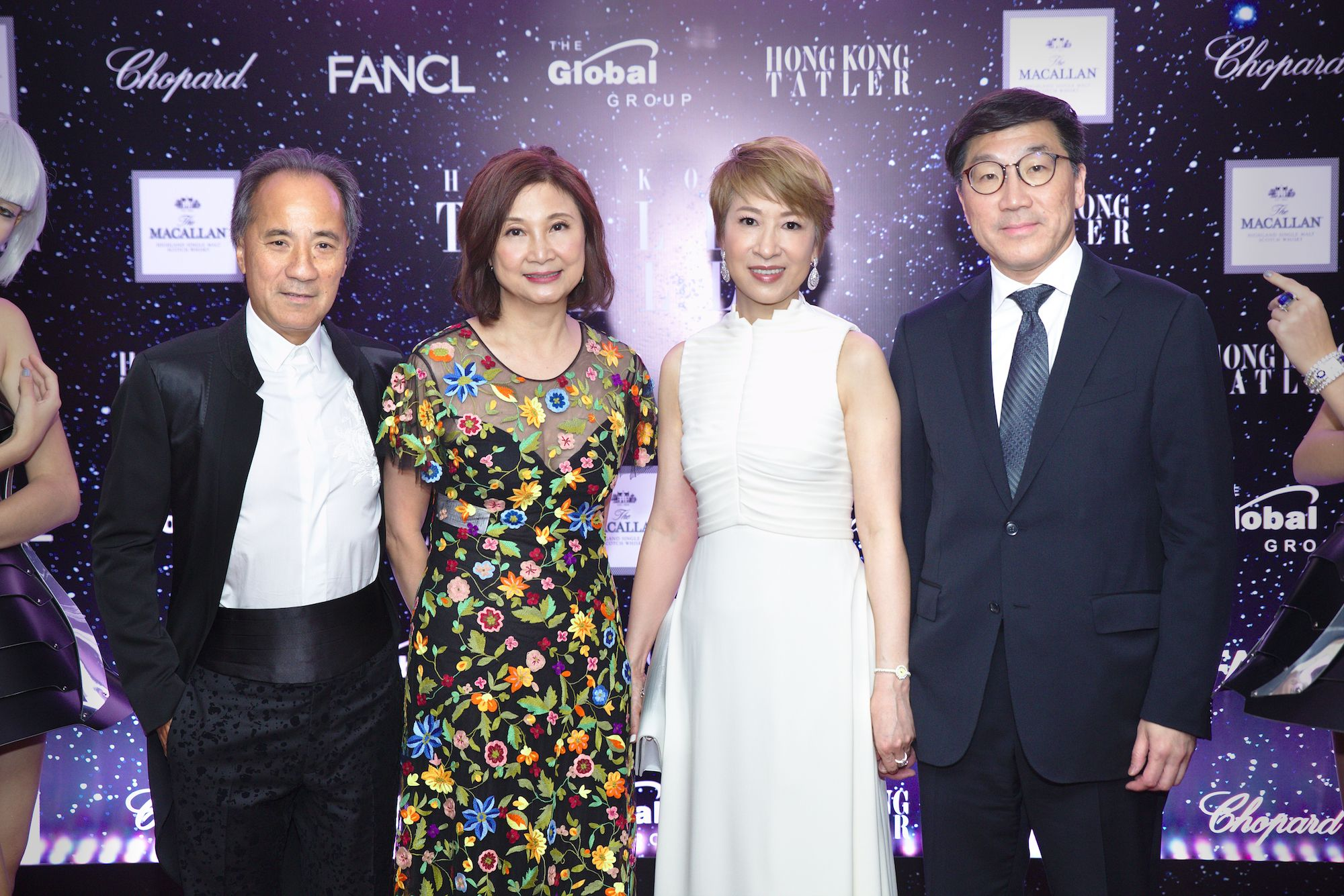 Edward Fung, Catherine Kwai, Michelle Ma-Chan, Christopher Chan