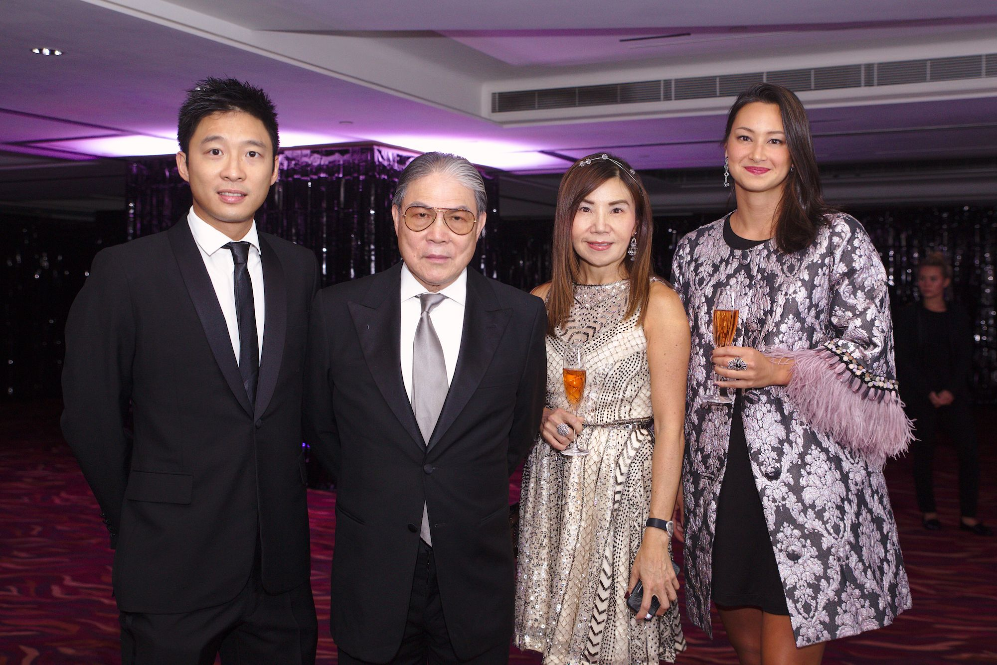 Eric Fok, Timothy Fok, Esther Ma, Camille Cheng