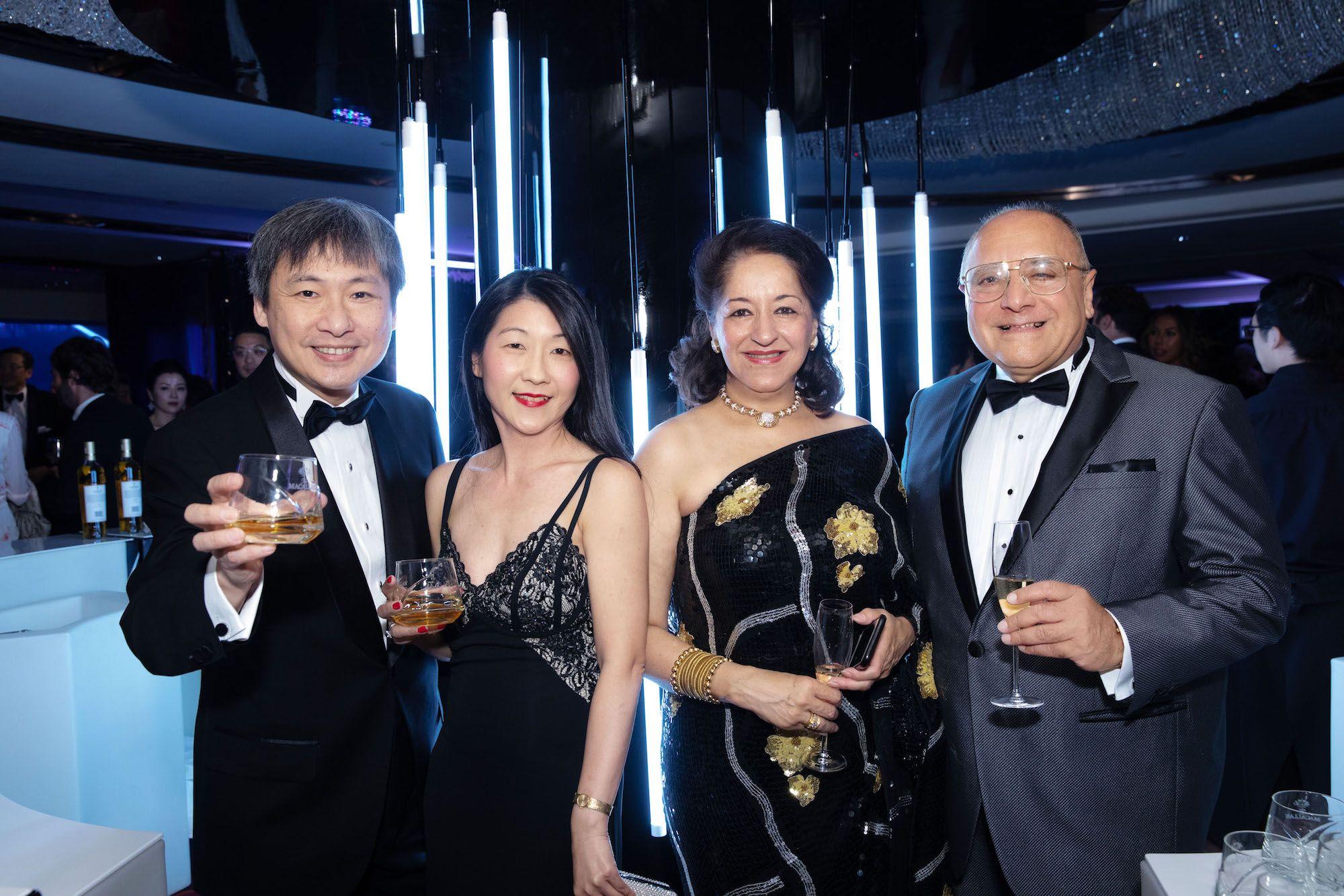 Peter Woo, May Wong, Chitra Chellaram, Manolo Chellaram