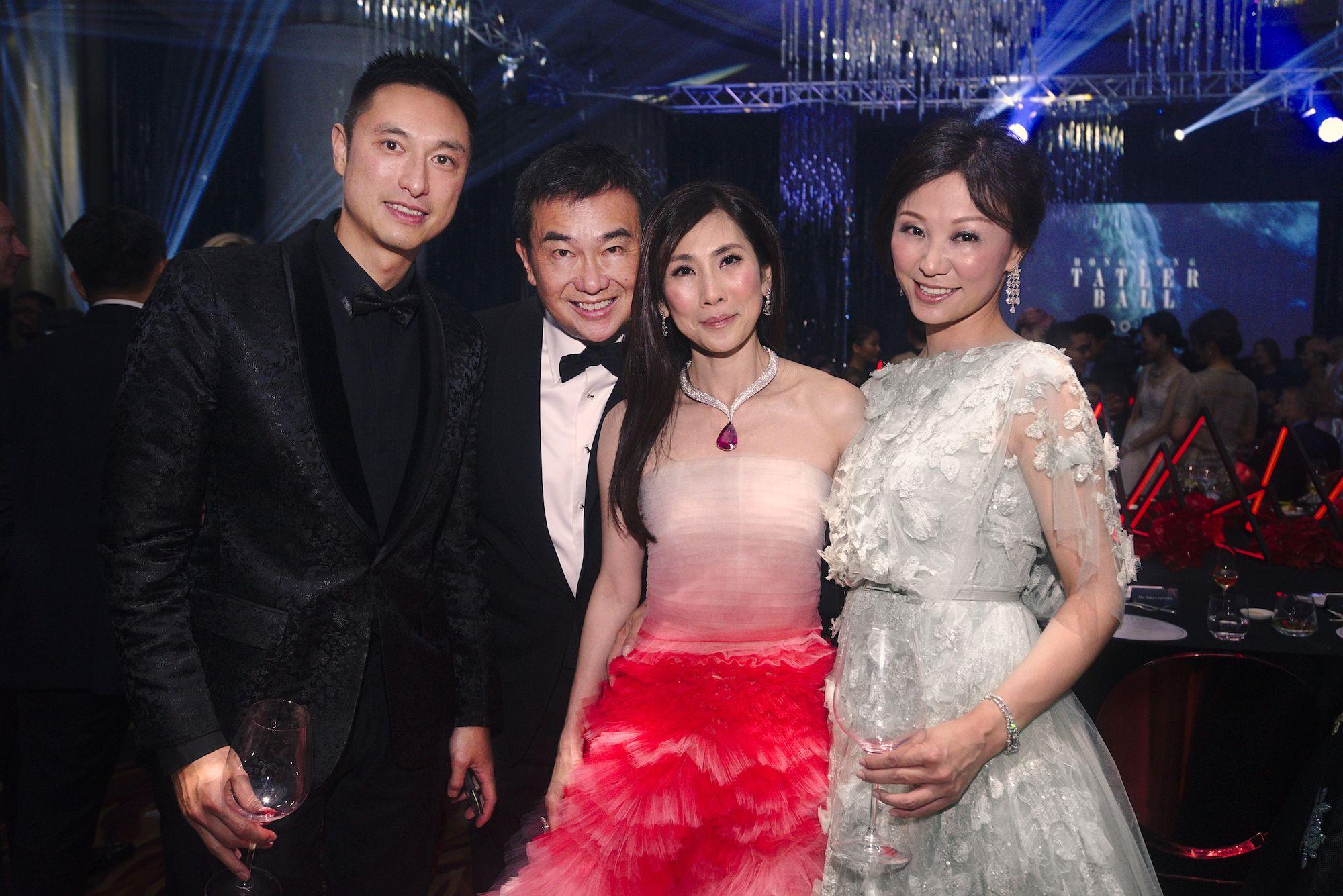 Alan Chan, Sherman Tang, Ming Ho-Tang, Michelle Cheng-Chan