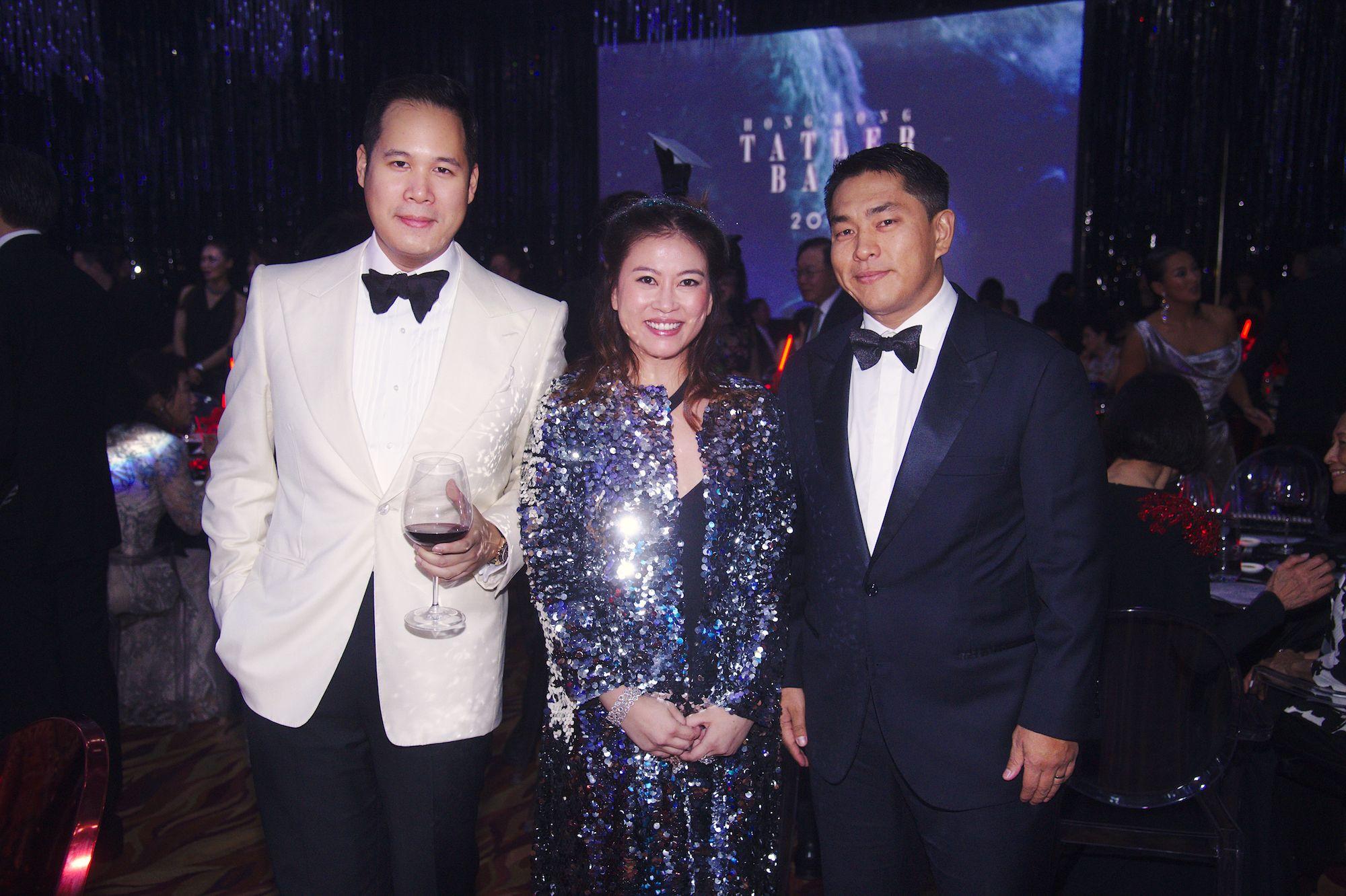 Brandon Chau, Sandee Sun, Kent Ho
