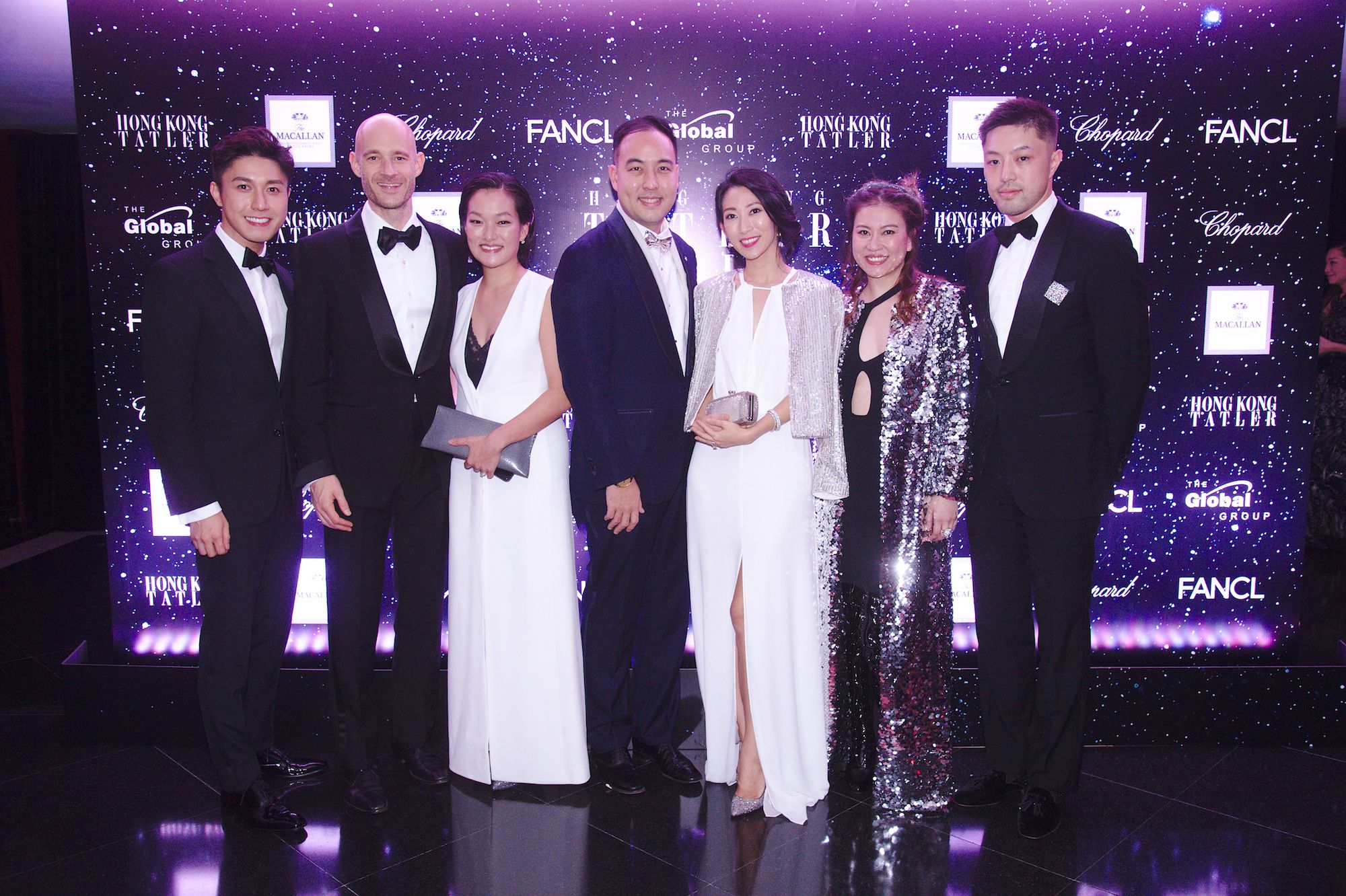 Edwin Pun, Edouard Malingue, Lorraine Malingue, Leonard Chao, Candice Chan, Sandee Sun, Ryan Sun