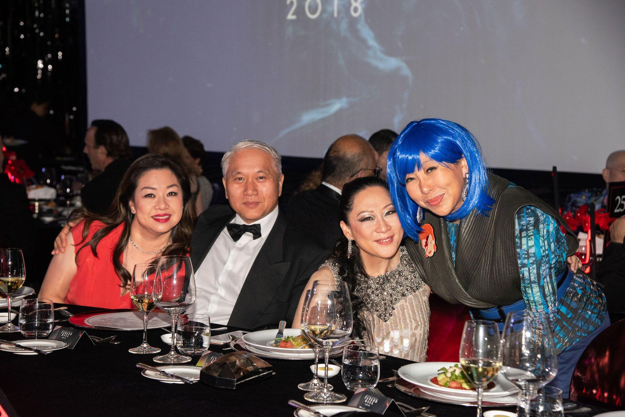 Candice Suen-Sieber, Johnny Chan, Yuda Chan, Lumen Kinoshita