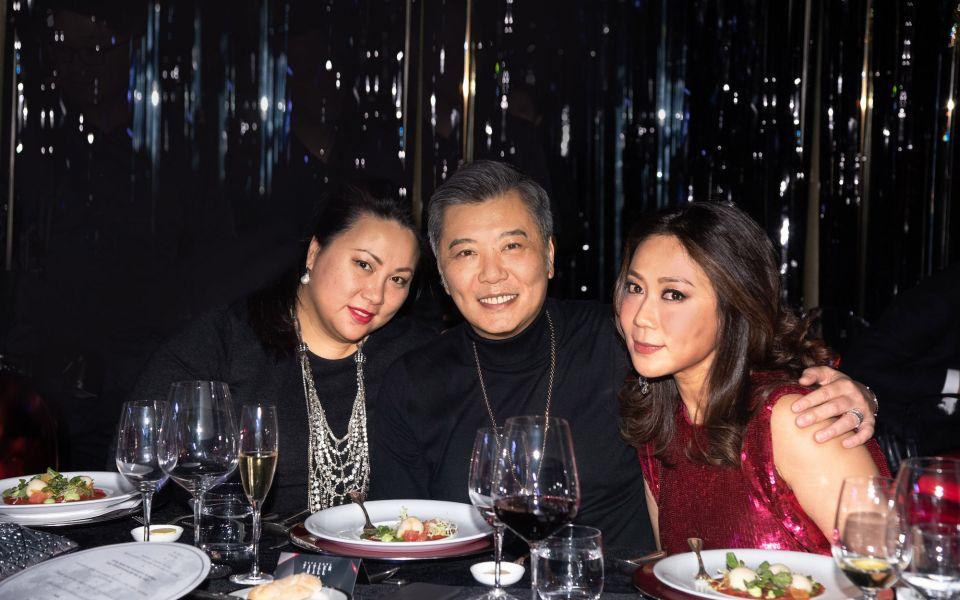 Charmaine Li, Peter Cheung, Sharie Ross-Tse