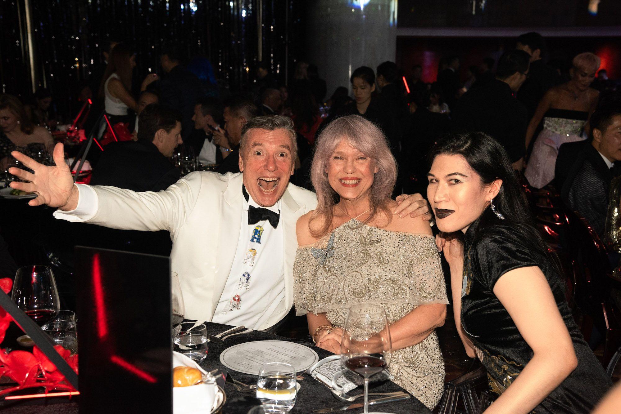 Mark Peaker, Paulette Ho, Chloe Ho