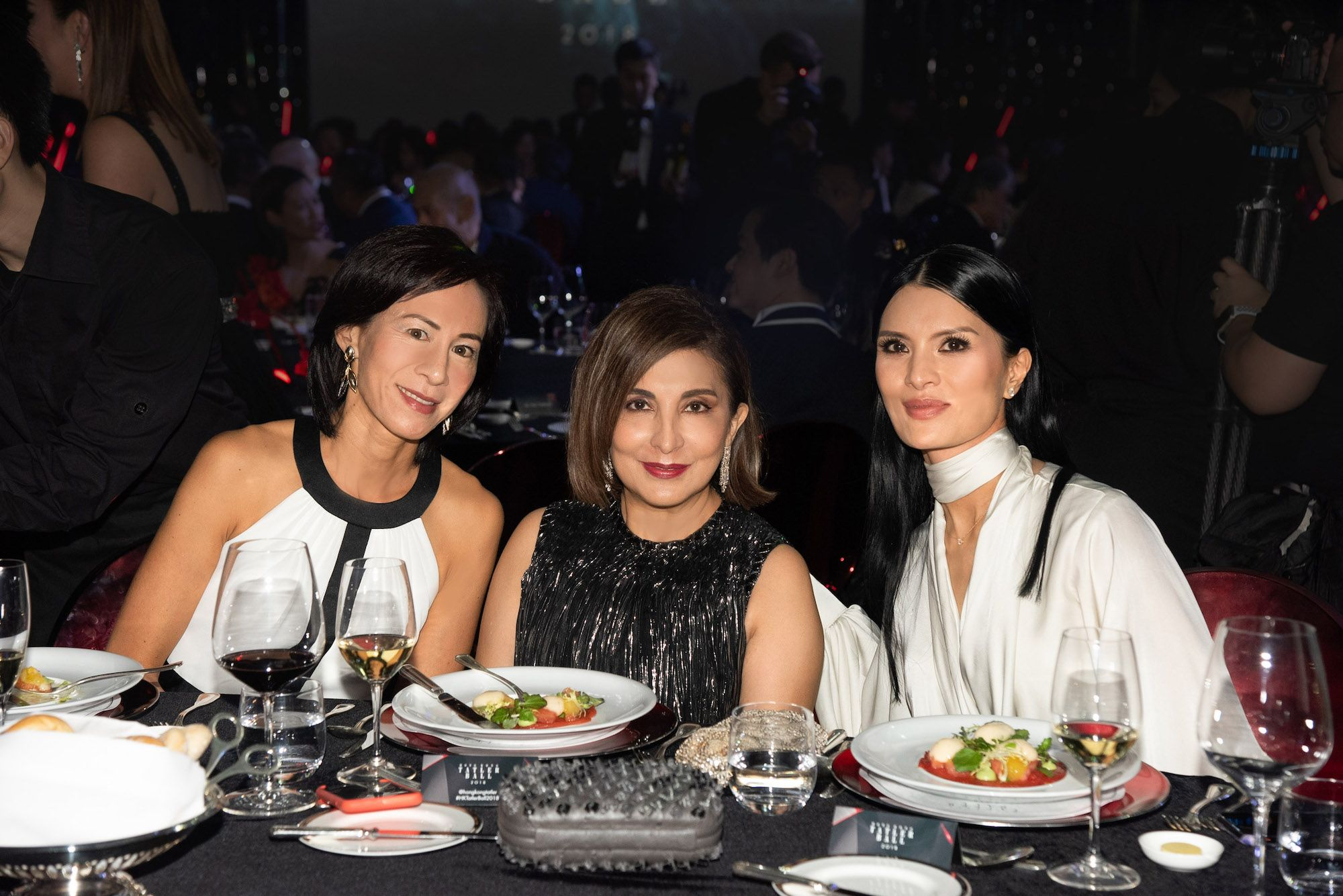 Patricia Tung-Gaw, Shirley Hiranand, Audrey Puckett