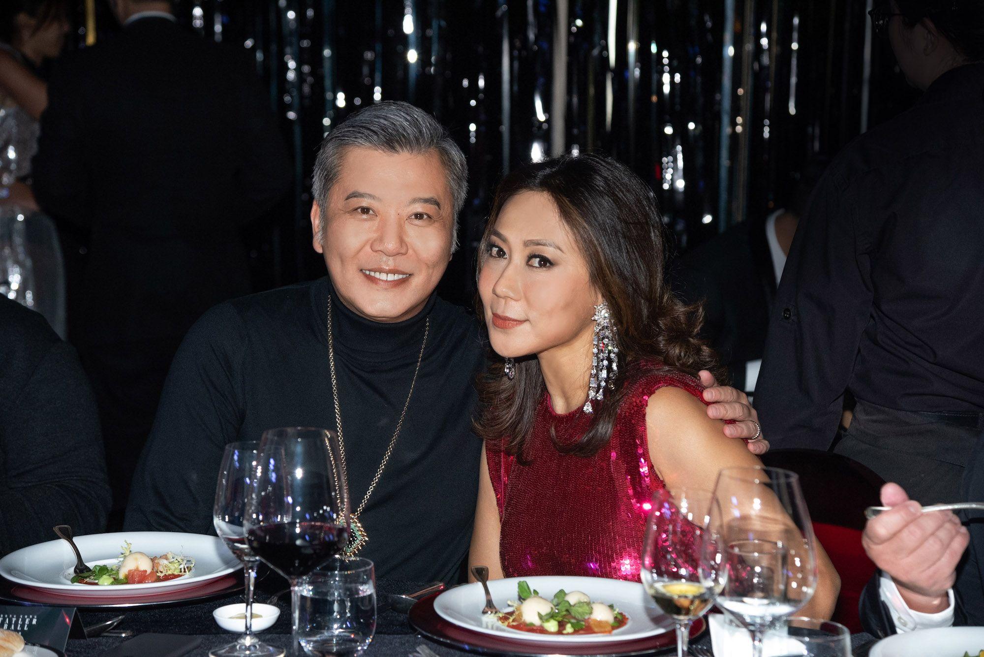 Peter Cheung, Sharie Ross-Tse