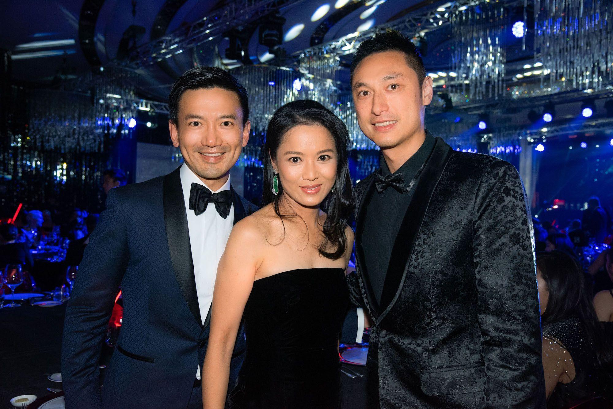 Ronald Kwok, Reggie Li-Kwok, Alan Chan