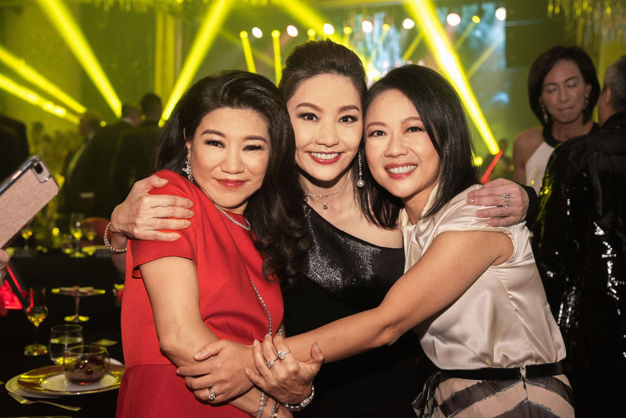 Vanessa Kwan, Laetitia Yu, Annie Ho-Ting
