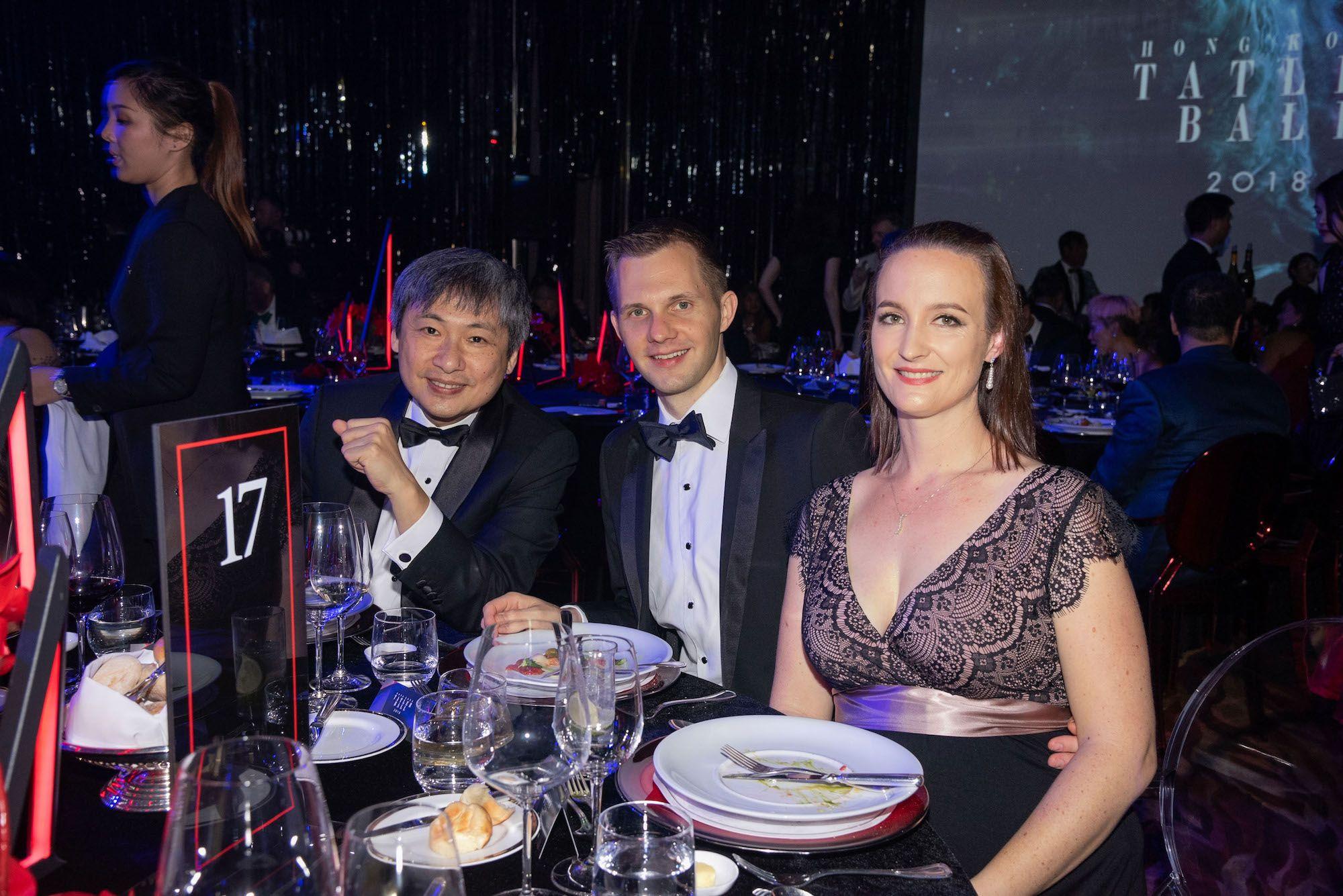 Peter Woo, Martin Eber, Stephanie Eber