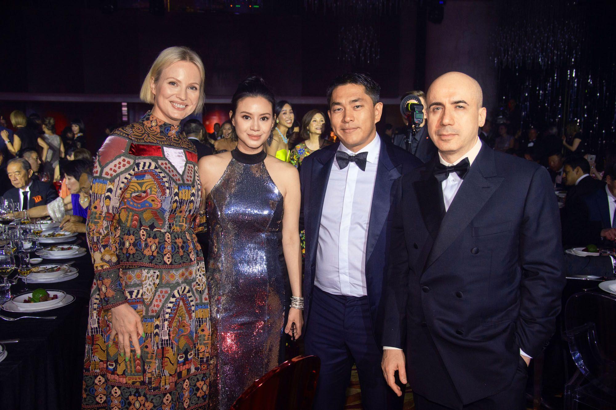 Julia Milner, Emily Lam-Ho, Kent Ho, Yuri Milner