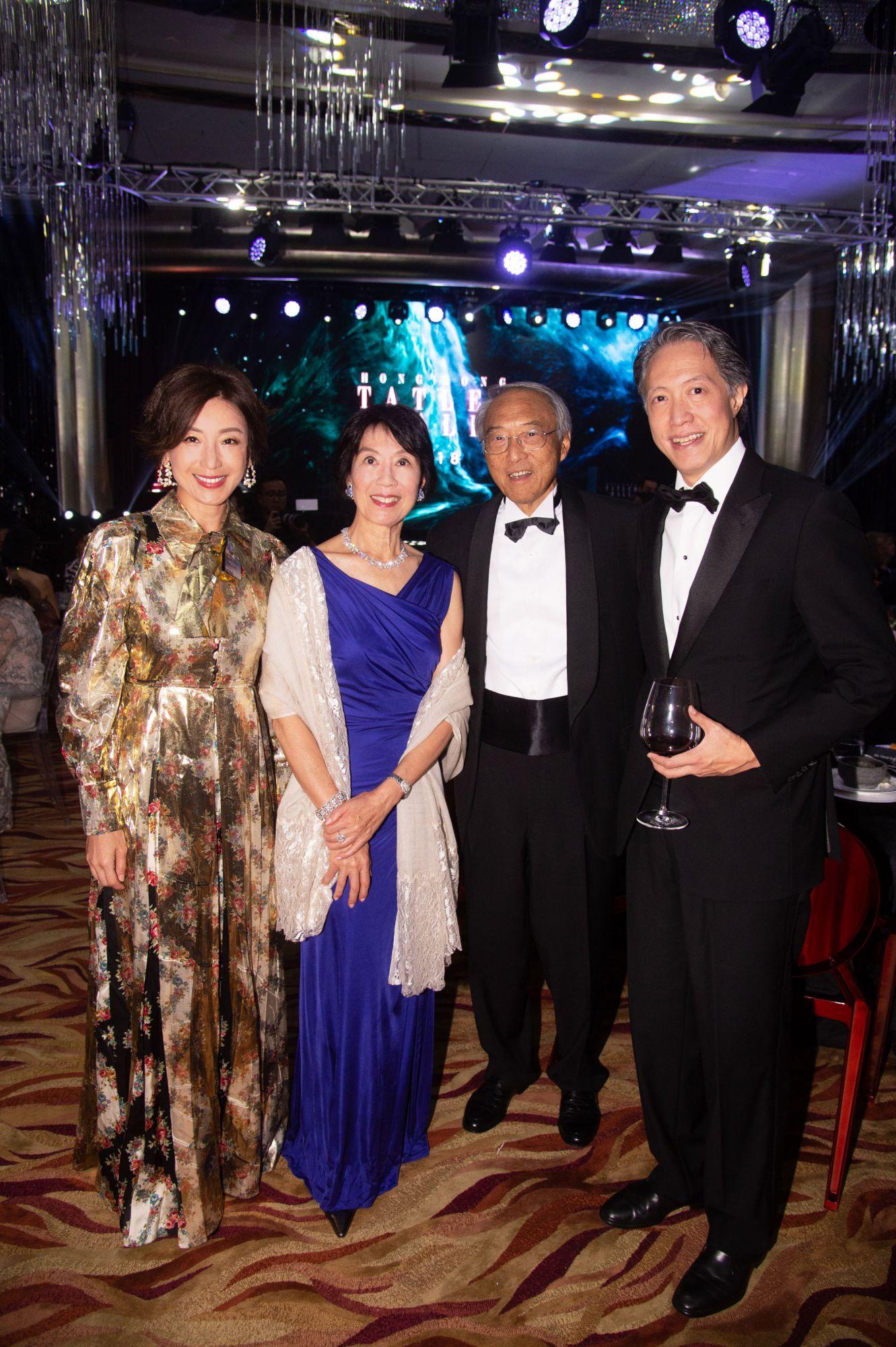 Lelia Chow, Harriet Tung, Tung Chee-chen, Stanley Chou